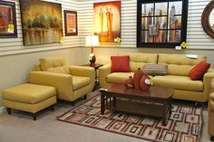Klaussner Sofa and Accent Chair - Colleen's Classic Consignment, Las Vegas, NV - https://cccfurnishings.com