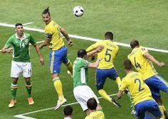 """Blog Esportivo do Suíço:  Ibra salva Suécia """"sozinho"""" e evita derrota na estreia da Eurocopa"""