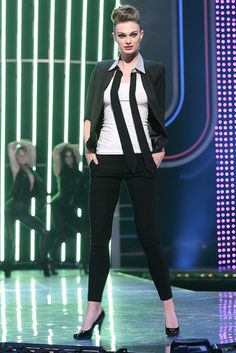 Kara's unisex signature look can be worn by men and women, and paired with anything you can think of. #FashionStar