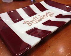 Mississippi State Bulldog Platter   Pinned by SECfootball101.com