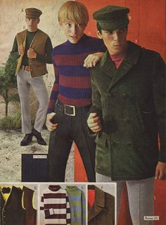 Young Men's Mod London Styles, Penney's catalog 1960s