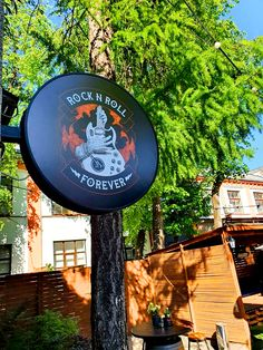 Rock 'N' Roll pub backyard. Irish Pub Interior, Bar Interior, Interior And Exterior, Life Images, Rock N Roll, Exterior Design, Rolls, Backyard, Patio