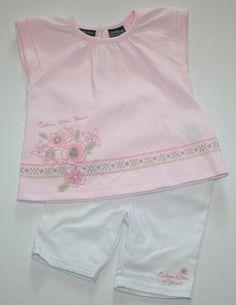 Calvin Klein Baby Girl's 2-piece Shirt and Capri « Clothing Impulse
