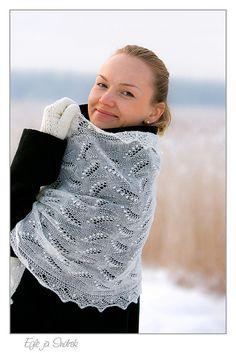 Det smukke lace fra Estland - Haapsalu sall