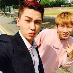Btob Ilhoon, Minhyuk, Im Hyun Sik, Smile Everyday, Fans Cafe, Cube Entertainment, Crazy People, Boy Groups, Kdrama