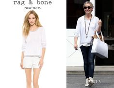 Sarah Michelle Gellar's Rag & Bone 'Arianna' Pullover