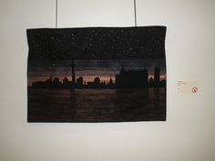 """Where Are The Lights"" by Linda Bright, Etobicoke Quilters' Guild"