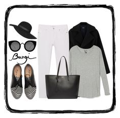 """""""Bangi Shop Leather Black and White Shoes!!!"""" by snjezanamilovanovic233 ❤ liked on Polyvore featuring MANGO, Yves Saint Laurent, Topshop, Quay, women's clothing, women's fashion, women, female, woman and misses"""