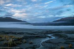 Alaska - Muddy Banks @ Cook Inlet | by ramonpereira.com Panama, Banks, Alaska, Cook, Mountains, Explore, Nature, Travel, Viajes