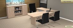 Wood office furniture. It feels more natural. www.myofficefurniture.co.za