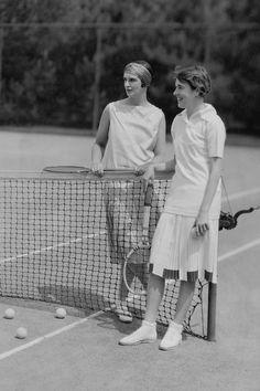 Jugar tennis con un turbante de seda! Fashion vs Sports