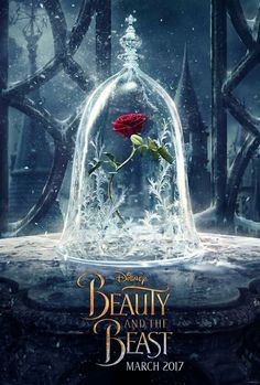 Wow! The first Beauty and the Beast poster was just released by Emma on her Facebook page!! ♡.♡ It's stunning!
