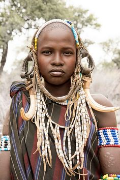 Mursi Woman | por Rod Waddington, Ethiopia