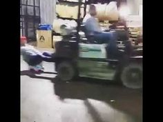 Hitchin' a Ride #forklift #safetyfail