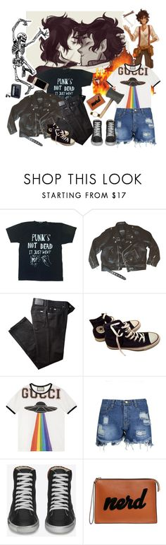 """""""valdangelo????"""" by barelyvreathing ❤ liked on Polyvore featuring Black Score, BRAX, Converse, Sony, Gucci, Yves Saint Laurent, Les Petits Joueurs and Larsson & Jennings"""