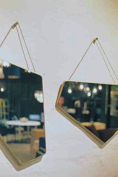 Repurposed broken mirror #diy