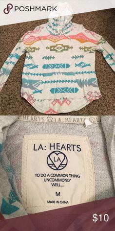 Aztec hoodie Rainbow Aztec LA Hearts hoodie LA Hearts Tops Sweatshirts & Hoodies