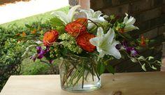 florist, flower delivery, unusual arrangement, custom floral design