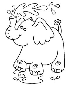 Cute Elephant Coloring Pages from Animal Coloring Pages category. Printable coloring pictures for kids that you can print and color. Check out our series and print the coloring pictures free of charge. Elephant Colouring Pictures, Elephant Coloring Page, Baby Coloring Pages, Cartoon Coloring Pages, Mandala Coloring Pages, Animal Coloring Pages, Coloring Pages To Print, Printable Coloring Pages, Coloring Books