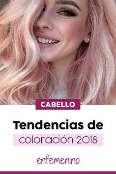137 mejores imágenes de Tendencias cabello 2018 -2019   Hair trends ... ef64be9e8ae0