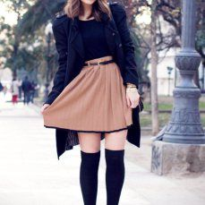 How to wear Over-the-Knee socks  Parigine: Istruzioni per l'uso