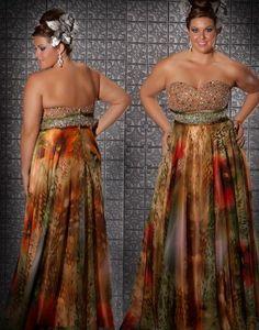 Fabulouss Plus Size 76257F at Prom Dress Shop