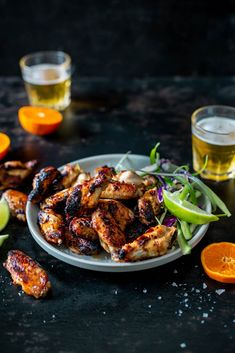 Here's a wing recipe that will blow everyone's socks off! This easy and delicious chili and ginger chicken wing appetizer is sure to please on game days, for get-togethers and potlucks, or as part of a full meal! Appetizers for dinner, perhaps? Wing Recipes, Asian Recipes, Ethnic Recipes, Appetizer Dips, Appetizers For Party, Ginger Chicken, Asian Cooking, Sweet And Spicy, Light Recipes