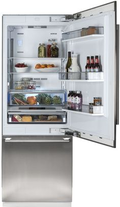 30 Inch Fully Integrated Built-In Bottom-Freezer Refrigerator - Refrigerators - Products