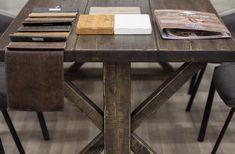 Kotimainen ja laadukas vankka ruokapöytä. Corner Desk, Table, Furniture, Home Decor, Corner Table, Decoration Home, Room Decor, Tables, Home Furnishings