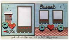 GIRLplusPAPER.blo...: Sweet Zoe Layout with cutting files available #ctmh #ctmhzoe #GIRLplusPAPER