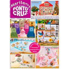 Revista Marileny Ponto Cruz 40 / Magazine Marileny Cross Stitch 40 visit www.marileny.net