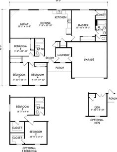 The Kelso by Hayden Homes - Floor Plan - at 1623 square feet, the Kelso is a mid-size home that makes the most of its single story layout.