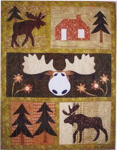 Moose Crossing Quilt Pattern by Prairie Grove Peddler