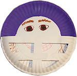Take me out to the ballgame baseball craft preschool for Football crafts for preschoolers