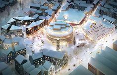 Kjellander + Sjöberg designs a climate-optimized urban development in new Kiruna