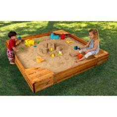 Check out the KidKraft 00130 Backyard Sandbox priced at $189.76 at Homeclick.com.