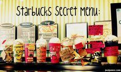Starbucks Secret Menu !!! #drinks #yum #starbucks