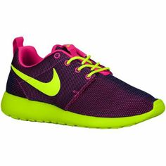 hot sale online ebb5d 86a04 Nike Roshe One - Women s - Hyper Pink Hyper Grape Black Volt