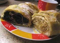motýlia :) vareška: Štrúdľa so zápražkou Strudel, Sweet Desserts, French Toast, Tacos, Beef, Breakfast, Ethnic Recipes, 3d, Drink
