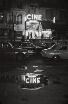 Paris, 1960's / Photo by Johan van der Keuken