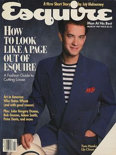 More Tom Hanks and Esquire.