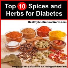 Top 10 Spices and Herbs for Type 2 Diabetes