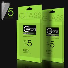 New Anti-Scratch premium tempered glass screen protector for iphone 5 5s 5c