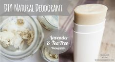 DIY Natural Deodorant via This Organic Life.  I've been buying mine and spending a fortune, let's see how I do making my own!