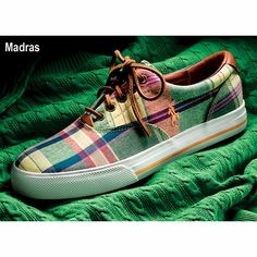 Madras is a heavily used fabric of the Polo line that is often associated  directly with Ralph Lauren. It\u0027s used on tops, shorts, and even shoes.