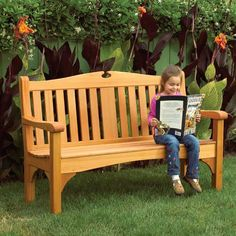Comfy Classic Garden Bench Woodworking Plan from WOOD Magazine Used Woodworking Tools, Woodworking Bench Plans, Woodworking Supplies, Popular Woodworking, Woodworking Crafts, Woodworking Videos, Teds Woodworking, Youtube Woodworking, Woodworking Magazine