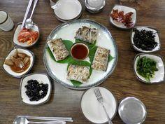 Poisson grillé de l'île de Jeju