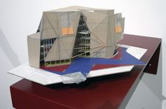 o'donnell + tuomey: vessel for venice, 1:200 working model in card, 2010