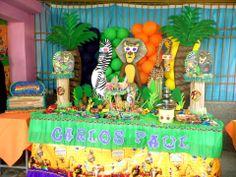 Mesa principal fiesta infantil