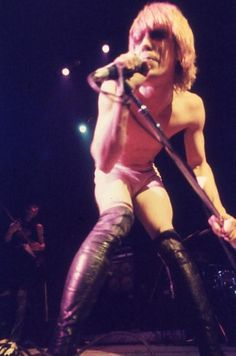 astralsilence: Iggy & The Stooges: Iggy Pop and James...